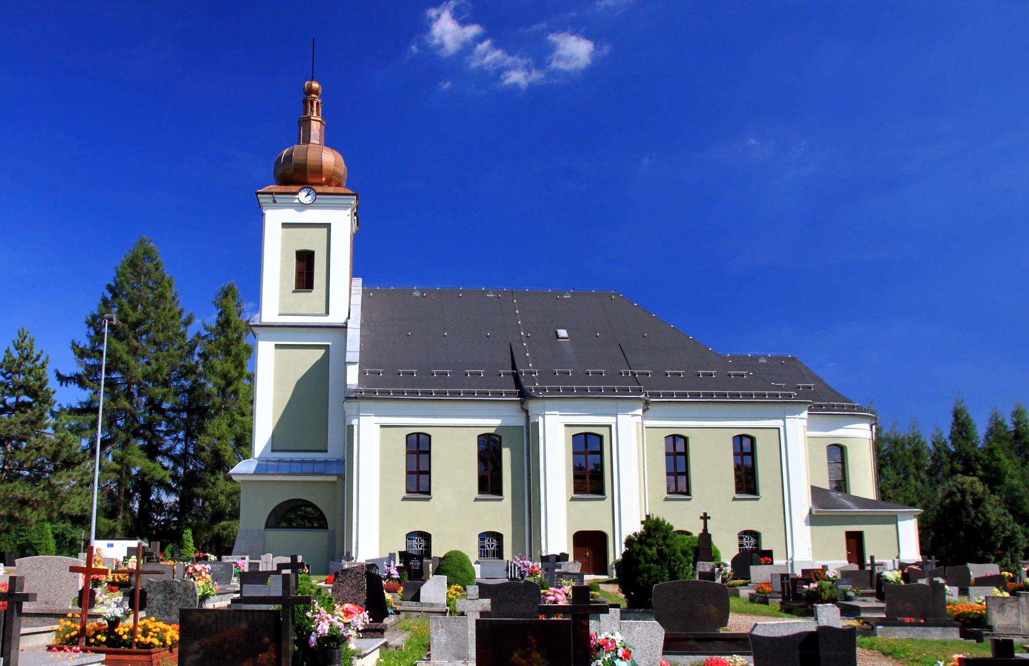 Wieża Kościoła w Golasowicach